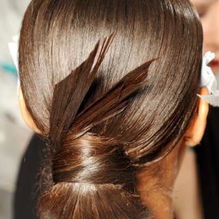 Wedding hairstyle - Low bun