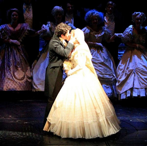 Wedding Proposal: A Surprise Broadway Performance