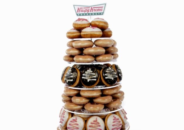 Wedding Doughnut Towers From Krispy Kreme, A New Hit