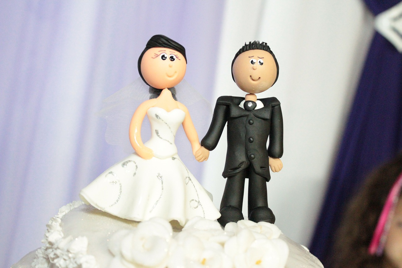 Personalised Wedding Cake Toppers Getting Hitched