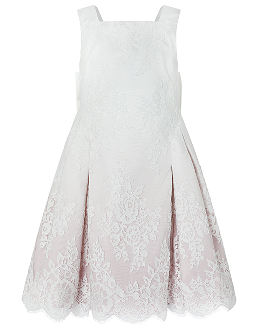 Monsoon Victoria Ombre lace dress