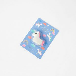 Accessorize Girls White and Pink Unicorn Lip Balm