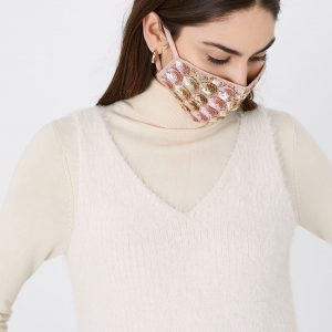 Mermaid Embellished Face Covering