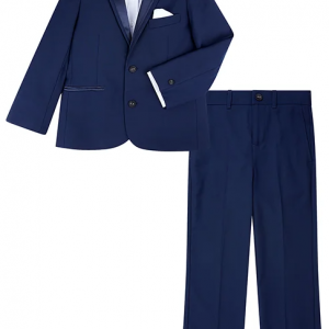 Monsoon Thomas 4PC Tuxedo Set Blue