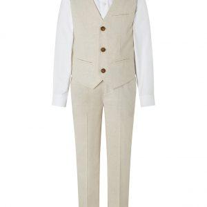 Monsoon Sebastian Four-Piece Suit Set Natural