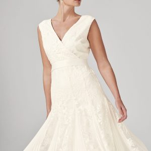 Phase Eight Caterina Embroidered Flared Wedding Dress