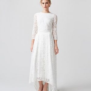 Monsoon Dominika Bridal Skirt Ivory