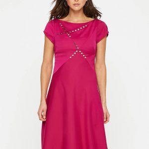 Damsel in a Dress Delia Stud Detail Dress