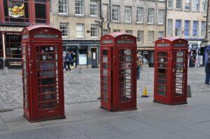 Edinburgh Phone boxes